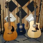 image of the acoustic guitars