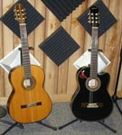 image of the classical guitars.